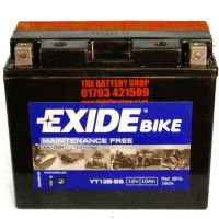 exide et12b bs motorcycle battery 12v 10ah 160a yt12b bs. Black Bedroom Furniture Sets. Home Design Ideas